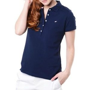 Vineyard Vines Navy Blue Shoreline Polo Shirt